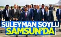 Bakan Süleyman Soylu, Samsun'da