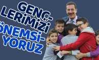 Erdoğan Tok: Gençlerimizi önemsiyoruz
