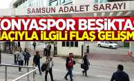 Samsun'daki Konyaspor Beşiktaş maçında pankart açan 16 kişi serbest