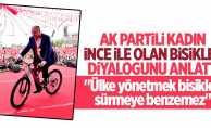 AK Partili kadın İnce'yle olan diyalogunu anlattı