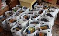 Bafra'da 275 aileye Ramazan paketi verildi