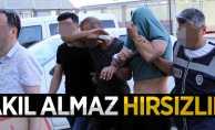 Samsun'da akıl almaz hırsızlık