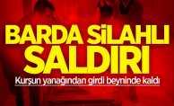 Samsun'da barda silahlı saldırı: Kurşun beyninde kaldı