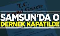 OHAL KHK'sı yayınlandı! Samsun'da o dernek kapatıldı
