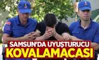 Samsun'da uyuşturucu kovalamacası: 1 gözaltı