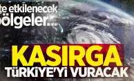 Tropikal kasırga Türkiye'yi vuracak! İşte etkilenecek bölgeler...