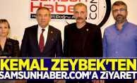 Kemal Zeybek'ten Samsunhaber.com'a ziyaret