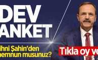 Samsun Büyükşehir Belediye Başkanı Zihni Şahin'den memnun musunuz?