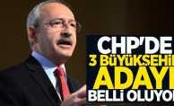 CHP'de 3 Büyükşehir Belediye Başkan Adayı Belli Oluyor