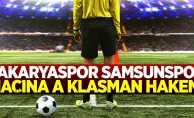 Sakaryaspor Samsunspor maçına A klasman hakemi