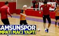 Samsunspor EMPATİ maçı yaptı