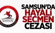 Samsun'da hayali seçmen cezası!