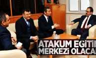 Başkan Şahin: Atakum eğitim merkezi olacak