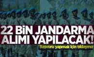 22 bin Jandarma alımı yapılacak! Başvuru şartları nelerdir?
