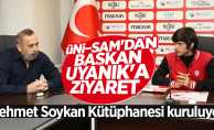 Mehmet Soykan Kütüphanesi kuruluyor