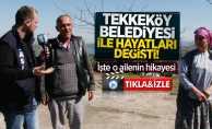 Tekkeköy Belediyesi ile hayatları değişti! İşte o ailenin hikayesi