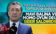 Bakan Selçuk: Mavi Balina ve Momo siber saldırıdır!