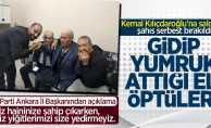 Kılıçdaroğlu'na saldıran Osman Sarıgün serbest bırakıldı! Gidip elini öptüler
