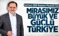 Mustafa Demir'den 23 Nisan mesajı