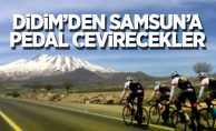 Didim'den Samsun'a pedal çevirecekler