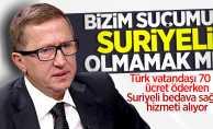 Lütfü Türkkan: Bizim suçumuz Suriyeli olmamak mı?