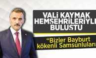 Vali Osman Kaymak Bayburtlu Hemşehrileriyle İftar Yemeğinde Buluştu