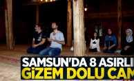 Samsun'da 8 asırlık gizem dolu cami