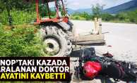 Sinop'taki kazada yaralanan doktor kurtarılamadı