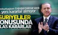 Erdoğan talimat verdi! Artık Suriyeliler ücret ödeyecek