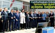 Cumhurbaşkanı Erdoğan Samsun'daki okulun açılışına telefonla bağlandı