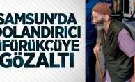 Samsun'da dolandırıcı üfürükçüye gözaltı