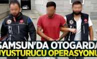 Samsun'da otogarda uyuşturucu operasyonu!