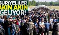 Suriyeliler akın akın geliyor!
