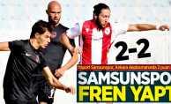 Yılport Samsunspor, Ankara deplasmanında 2 puan bıraktı | Bakspor-Samsunspor 2-2