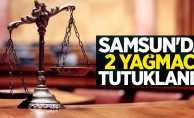 Samsun'da 2 yağmacı tutuklandı