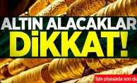 Altın piyasasında son durum! 15 Kasım Cuma altında fiyatları