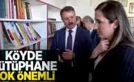 Başkan Deveci: Köyde kütüphane çok önemli