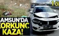 Samsun'da korkunç kaza! 1 ölü
