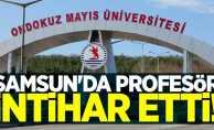 Samsun'da Profesör Dr. Emine Coşkun intihar etti!