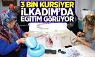 3 bin kursiyer İlkadım'da eğitim görüyor!
