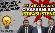 AK Parti'de flaş gelişme!