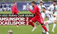 Hazırlık maçı: Samsunspor 2-2 Kocaelispor
