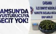 Samsun'da uyuşturucuya geçit yok! 1 gözaltı