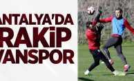 Antalya'da rakip Vanspor