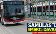 """SAMULAŞ'ta emekçi davası! """"5'se 4 verin ama çalışanın hakkını verin"""""""