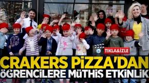 Crakers Pizza'dan öğrencilere müthiş etkinlik