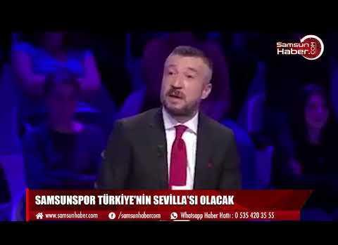 Samsunspor Türkiye'nin Sevilla'sı olacak