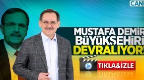 Mustafa Demir büyükşehiri devralıyor