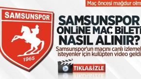 Afyonspor-Samsunspor maçı canlı nasıl izlenir? Afyonspor-Samsunspor online bilet nasıl alınır? Samsunspor maç bileti al