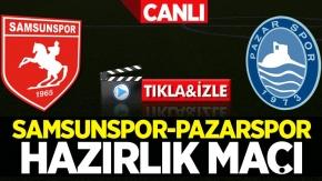 Samsunspor-Pazarspor maçı canlı tıkla izle